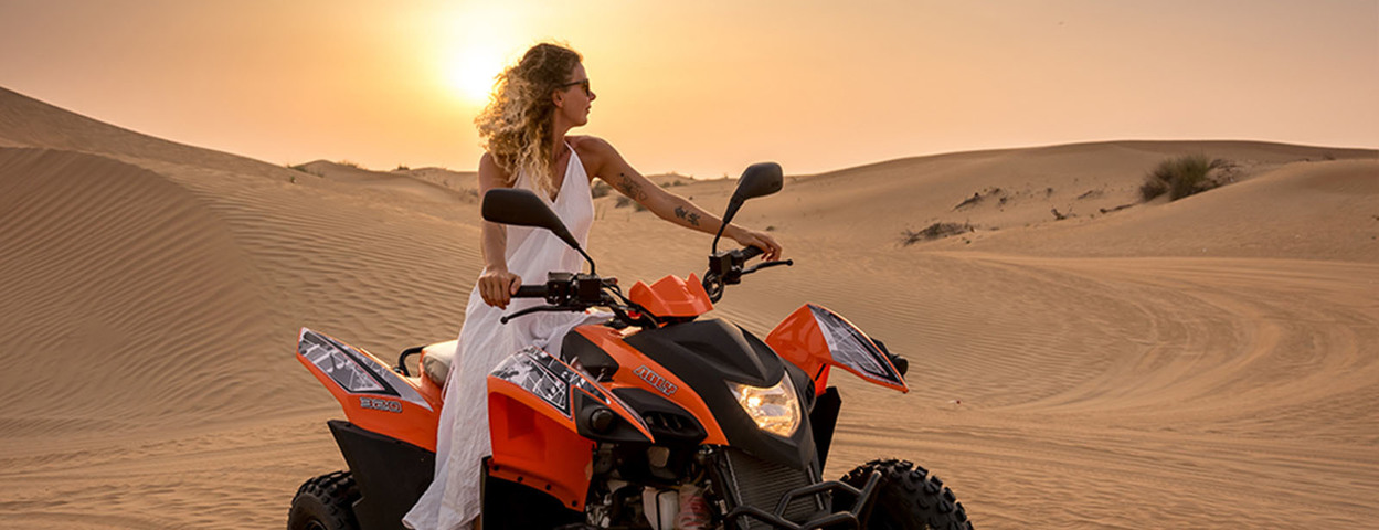 Quadbiking dubai